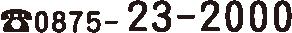 0875-23-2000